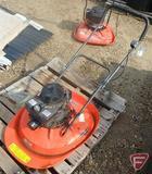 Husqvarna HVT 52 gas walk-behind fly mower/hover mower, Tecumseh engine, SN: 14000326