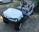 2009 Cushman Commander 2100 electric utility vehicle with manual dump box