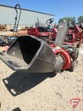 MTD Yard Machine chipper shredder, 5.5 HP, model 24A46313129, SN: 1F52G80005