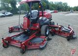 2013 Toro GM5900D 16' diesel wide area rotary mower, with ROPS, roof, lights, 4,099 hrs showing