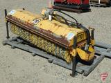 MB 6' hydraulic articulating broom attachment