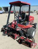 Toro Reelmaster 5500D 5-gamg diesel fairway reel mower with canopy & ROPS partial cage, 4448 hrs