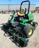 John Deere 3225B 5-gang diesel fairway reel mower with ROPS and headlights, 4411 hrs