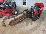 2018 Toro TRX 250 Intelli-Trench trencher with V-Twin commercial 708cc 24.5 HP motor, 183 hrs