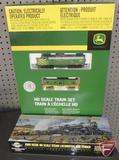Athearn John Deere Ho Scale Steam Locomotive and Tender No 347, new in box, and