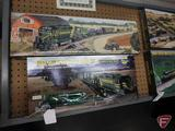 Athearn John Deere Ho Scale Train Set, new in box, and
