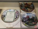 Collector plates, Farmers Pride by Ross Logan, Danbury Mint Days of Splendor,