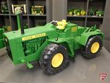 Ertl replica John Deere 8020 diesel tractor with commemorative medallion