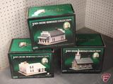 John Deere Heritage Collection, Amos Bosworth, Blacksmith Shop, Home, Grand Detour Church,
