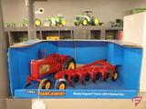 Ertl Farm Country Massey Ferguson Tractor with 4 Bottom Plow, 1:16, new, in box