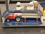 Ertl replica Ford 8N Tractor and Wagon Set, 1:16, in box