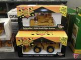 Ertl replica Caterpillar D10N Track-Type Tractor 1:50 and Caterpillar 988B Wheel Loader, 1:50