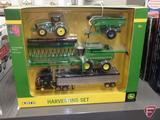 Ertl John Deere Harvesting Set, 1:64, new in box
