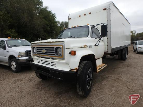 1988 Chevrolet C70 Box Truck ***Does Not Run***