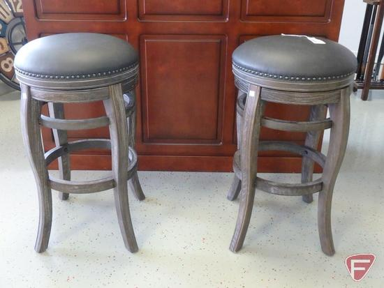 (2) AHB Home Furniture Collections matching bar stools