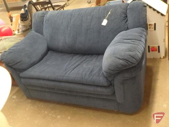 "Hide-a-Bed loveseat, 59""w"