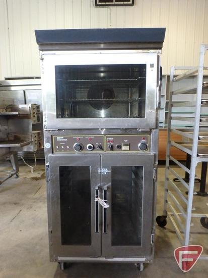 Doyon commercial proofer/oven on casters, model JA0P 3, sn 1088