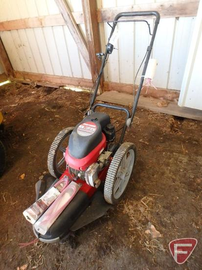 Craftsman walk behind estate trimmer with 6.75hp gas engine