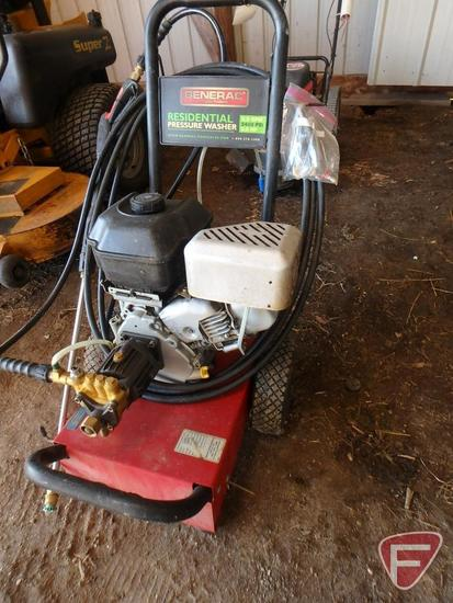Generac Residential portable pressure washer, 2.2gpm, 2400psi, 6hp