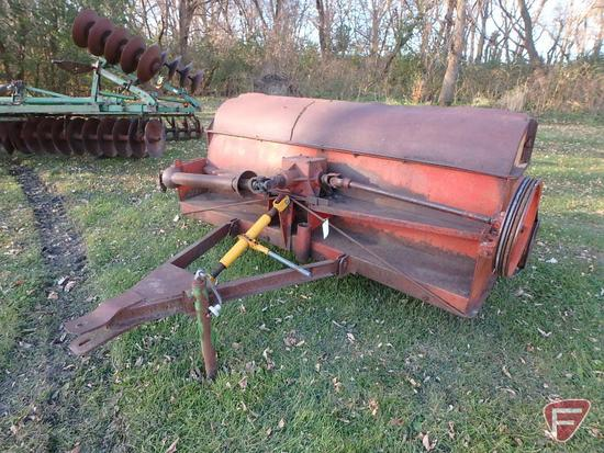 "80"" Bradley stock chopper,pull type, 540 pto. model 608, sn 15456"