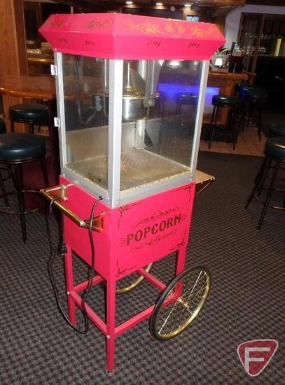 Popcorn cart with popper model UE40010