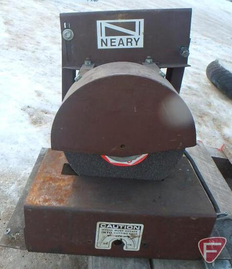 Neary model 400 rotary blade grinde, sn 3793