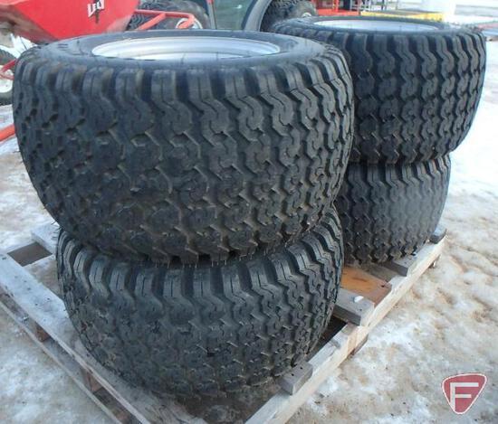 (4) Softrac 31X15.50-15 tires on 5-bolt rims