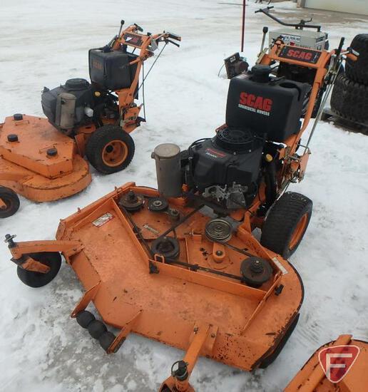"""Scag 52"""" hydro walk behind mower"""