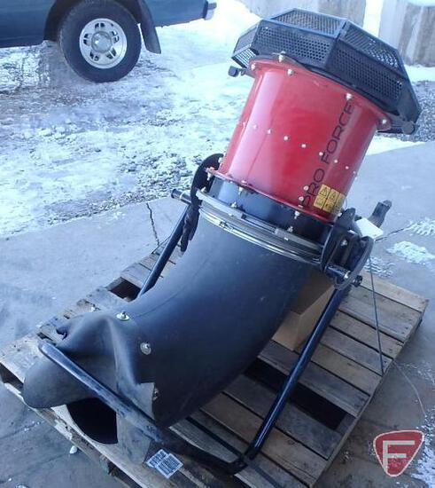 Toro Pro Force blower attachment with idler kit