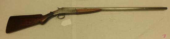 J. Stevens 12 gauge break action shotgun