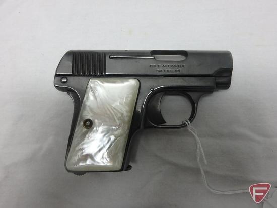 Colt Automatic .25ACP semi-automatic pistol