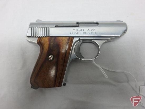 Jennings J-22 .22LR semi-automatic pistol