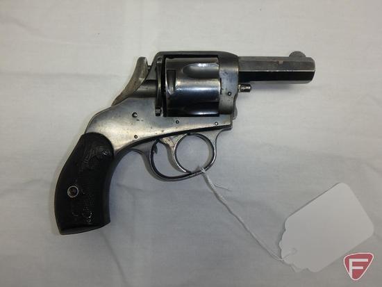 Harrington & Richardson Safety Hammer .44 Webley double action revolver
