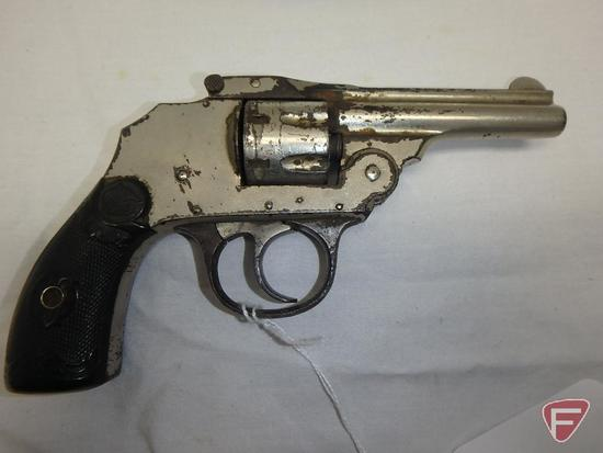 Iver Johnson Safety Automatic Hammerless 3rd Model .22 rimfire double action revolver