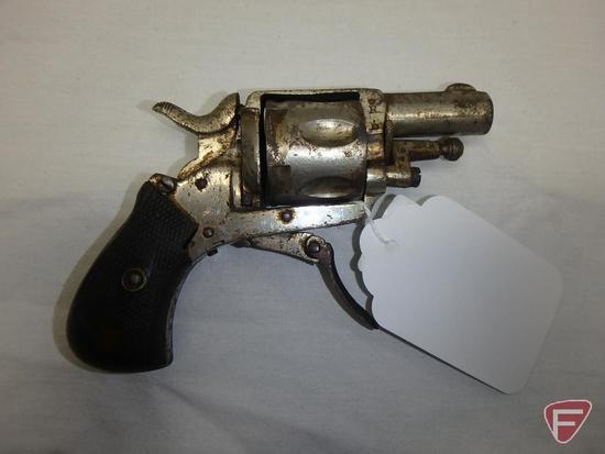 Belgian Bulldog .32 centerfire double action revolver