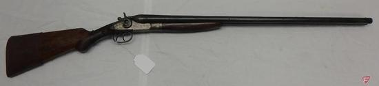 Hopkins & Allen 12 gauge double barrel break action shotgun