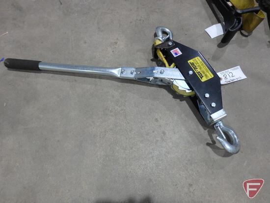 Tuf-Tug TT2000 hoist/puller, 2000lb capacity