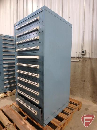 Stanley Vidmar 11-drawer tool cabinet