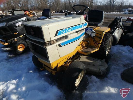 """Cub Cadet International 1250 riding lawn mower with 12hp gas engine, 44"""" deck, hydrostatic"""
