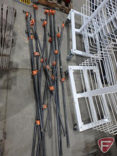 (11) pipe clamps