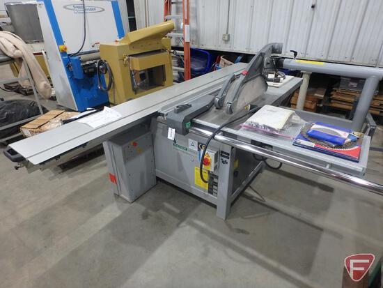 Altendorf WA8 sliding bed table saw, underscore blade, extra blades, 3ph