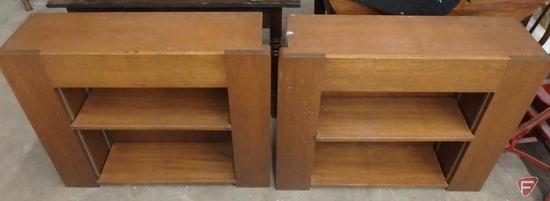 "Matching bookcases 36""W x 10""D x 30""H. Both"