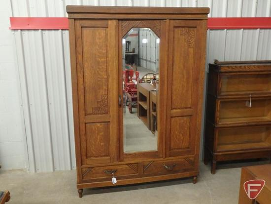 "Fold up wardrobe/storage cabinet 56""W x 22D"" x 78""H"