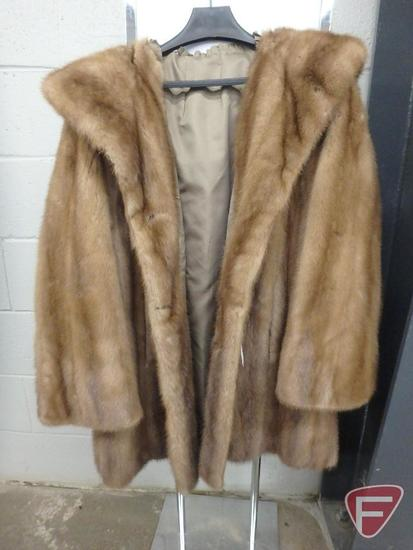 Ladies custom-made fur coat