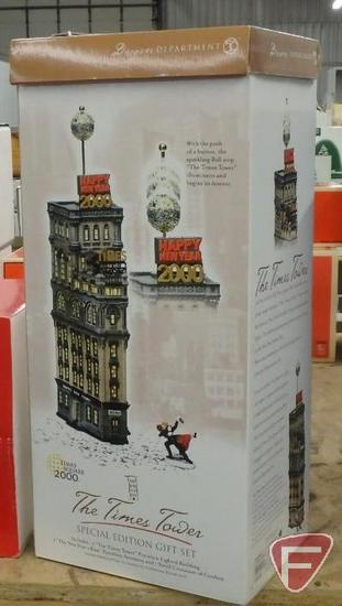 Dept 56, The Times Tower Special Edition Gift Set