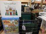 Dept 56 Ronald McDonald House, David Winer Cottages, Dept 56 guide books. Crate + 2 pcs
