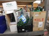 Dept 56, Accessories - trees. 4 boxes plus crate