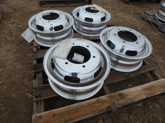Over 200 Unused & Compromised Truck Tires & Rims