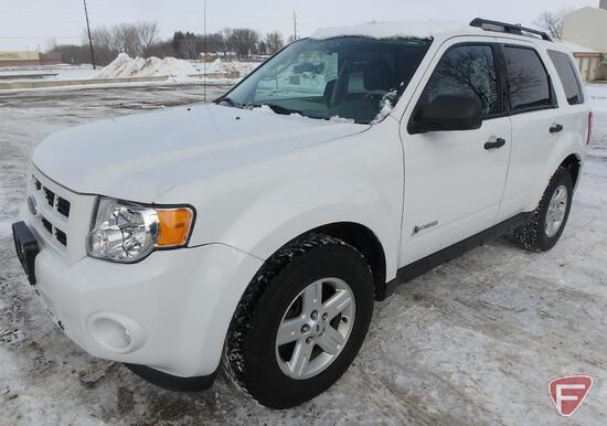 2009 Ford Escape Hybrid Multipurpose Vehicle (MPV)-HAUL ONLY