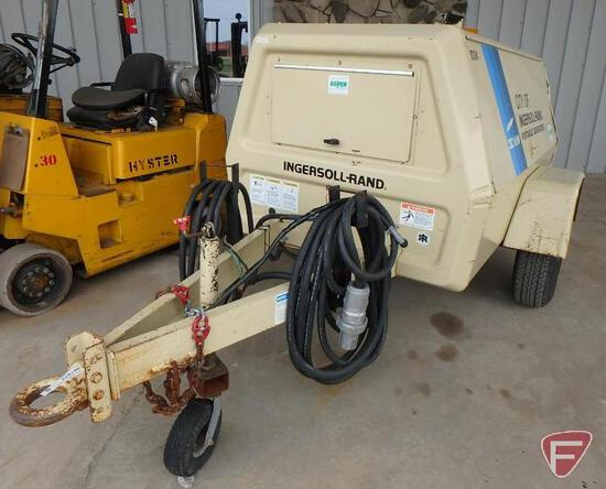 1989 Ingersoll-Rand 30KW single axle portable generator, single and 3-phase, 1,965 hrs.